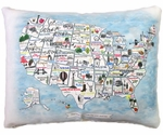 United States Outdoor Pillow