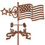 USA Flag Weathervane