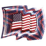 USA Flag Wind Spinner