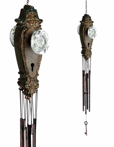Victorian Door Knob Wind Chime - Click to enlarge