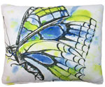 Watercolor Butterfly Outdoor Pillow