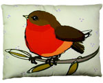 Wee Robin Outdoor Pillow