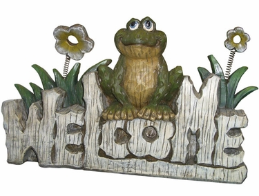 Welcome Frog Statuary - Click to enlarge