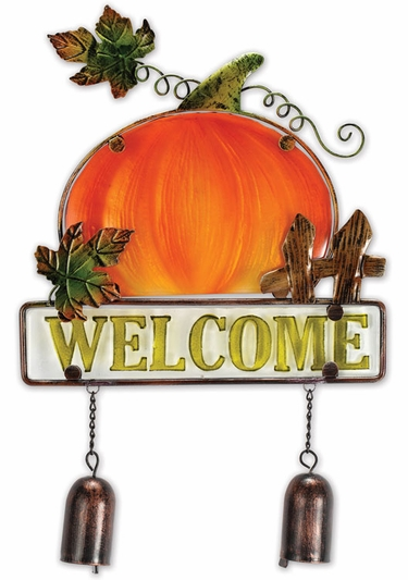 Welcome Pumpkin Sign - Click to enlarge