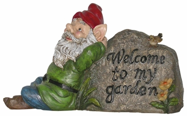 Welcome to my Garden Gnome - Click to enlarge