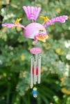 Whimsical Bird Wind Chime