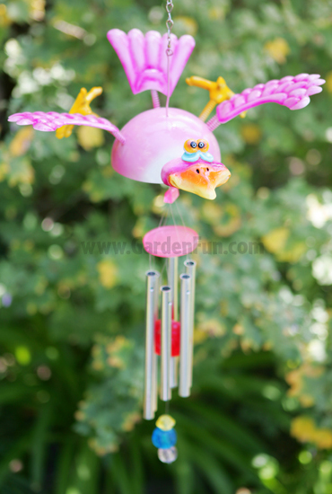 Whimsical Bird Wind Chime - Click to enlarge