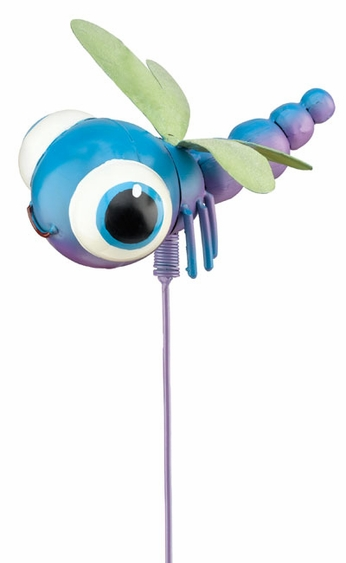 Whimsy Dragonfly Garden Stake - Click to enlarge
