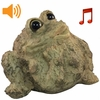 Whistling Toad w/Motion Sensor- Light Natural