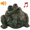 Whistling Toad w/Motion Sensor- Dark Natural