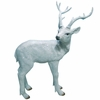 White Deer Statue - Small
