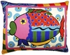 Wild Fish Outdoor Pillow