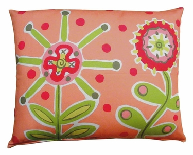 Wildflower Outdoor Pillow - Click to enlarge