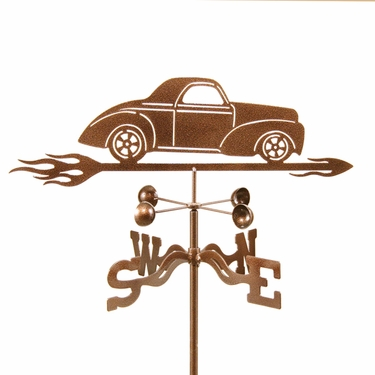 Willys Car Weathervane - Click to enlarge