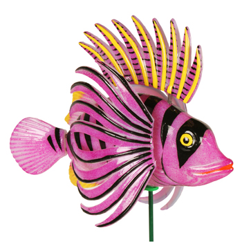 Windy Wings Flying Fins Plant Stakes (Set of 6) - Click to enlarge