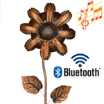 Wireless Speaker Stake - Copper Flower