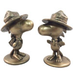 Woodstock Bird Scout - Antique Bronze (Set of 2)