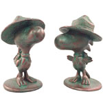 Woodstock Bird Scout - Bronze Patina (Set of 2)