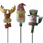 Xmas Garden - Christmas Yard Stakes (Set of 3)