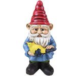 Yard Gnome w/Bird