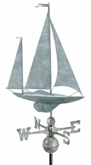 Yawl Weathervane - Click to enlarge