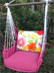 Yellow Birds Garden Hammock Chair Swing Set