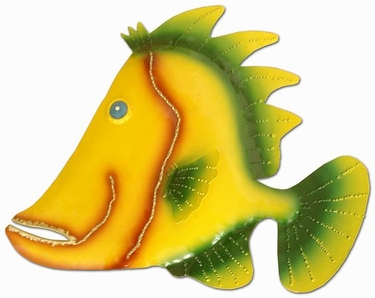 Yellow Fin Wall Decor - Click to enlarge