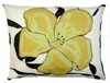 Yellow Flower Outdoor Pillow