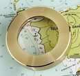 Nautical Chart Weight 5X Magnifier