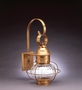 "8"" Caged Onion Wall Fixture"