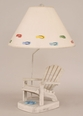Adirondack Chair Lamp with Flip Flops