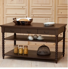 Alexander Spindle Kitchen Island