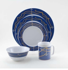 Anchorline Melamine Dinnerware Collection with Platter
