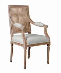 Annette Cane Armchair in Natural<font color=a8bb35> NEW</font>