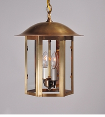 Aurora Collection 2-Light Hanging Lantern