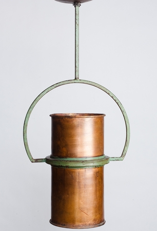 Bailey's Island Copper Yoke Pendant Light