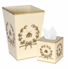 Bath Set Napolean Bee with Garland<font color=a8bb35> NEW</font>