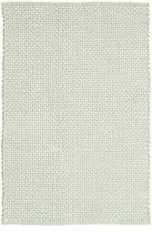 Beatrice Soft Green Woven Cotton Rug<font color=a8bb35> NEW</font>