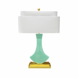 Bellaria Table Lamp in Mint  <Font color=a8bb35> NEW</font>