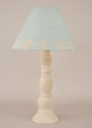 Four-Ring Candlestick Pot Lamp With Clam Shade