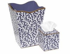 Blue Coral Bath Set