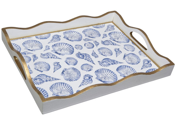 Blue Shell Tray <font color=a8bb35> NEW</font>