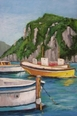 Boats of Capri Giclee