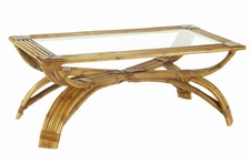 BonAdventure Coffee Table in Natural or Espresso