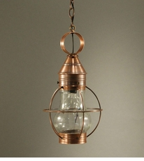 Bosc Caged Hanging Fixture with Optic Glass