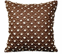 Brown Shell Indoor Pillow<font color=a8bb35> NEW</font>