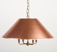 Carolina Two Piece Copper Shade Light