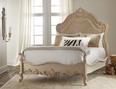 Carved Bed in Weathered Solids<font color=a8bb35> NEW </font>