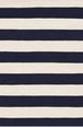 Catamaran Stripe Navy and Ivory Rain or Shine