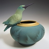 Ceramics, Sweetgrass and Metal Art